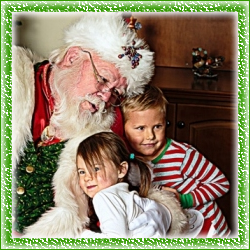 Sugar Hill Santa